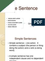 The Sentence Week 4