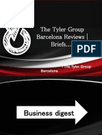 The Tyler Group Barcelona Reviews | Briefs....