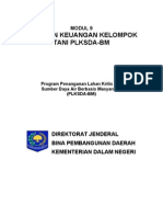 Laporan Keuangan (PLKSDA-BM)