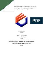 Laporan Praktikum Elka 3 - Voltage Double - Siti Nurul