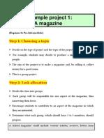 Skiadas Sample Project 1- A School Magazine