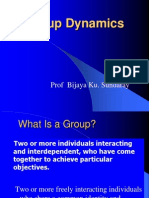 Group Dynamics b.sundar