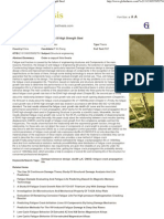 The Study on Fatigue Crack Growth of High Strength Steel