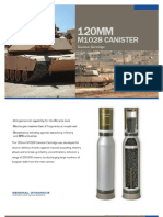 120mm M1028 Canister