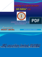 Ppt of Rohit Jrg Securities 222