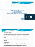 Corporate Finance Case Study