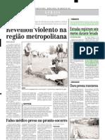 2003.01.02 - Estradas Registram Sete Mortes Durante Feriado - Estado de Minas