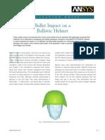 Application Brief Ballistic Helmet