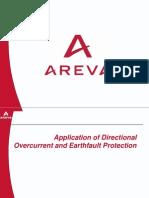 Application of Dir. OC + EF Protn-AREVA