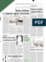 2003.04.13 - Sete Pessoas Ficaram Gravemente Feridas Em Acidentes Na BR 381, Altura Dos Km 473 e 487 - Estado de Minas