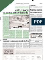 2003.04.19 - Engarrafamento e morte na saída para o feriado - Estado de Minas