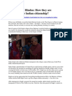 Plight of Pak Hindus