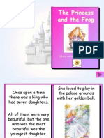 The Princess and the Frog Story Book