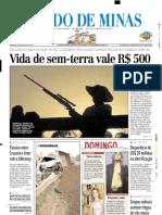2003.06.29 - Polícia Rodoviária erra e provoca acidente em BR - Estado de Minas