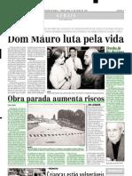 2003.07.22 - Obra Parada Aumenta Riscos - Estado de Minas