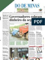 2003.11.18 - Seis Pessoas Morreram Em Um Acidente No Km 434 Da BR-381 - Estado de Minas