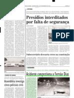 2003.11.26 - Acidente congestiona a Fernão Dias - Estado de Minas