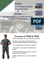 PPBE Presentation