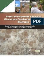 Nocoes de Prospeccao e Pesquisa Mineral Para Tecnicos Em Geologia e Mineracao