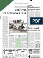 2003.12.20 - Caminhão-tanque derramou 35 mil litros de álcool na BR-381 - Estado de Minas