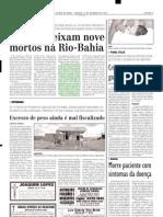 2003.12.27 - Acidente Provoca Uma Morte No Km 695 Da BR-381 - Estado de Minas