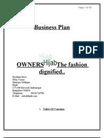 Fashion Wear Business Plan