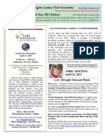 April May 2013 PHGC Newsletter - ONLINE Edition
