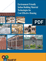 Environment Friendly Indian Building Material Technologies for Cost Effective Housing