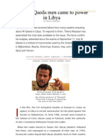 How Al Qaeda Men Came to Power in Libya [Voltaire Network]