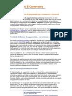 Variedade Formas Pagamento Ecommerce