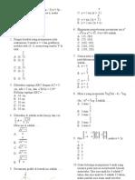 latihan1ujiannasionalmatematika2009