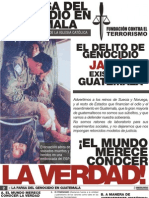 La Farsa Del Genocidio en Guatemala5