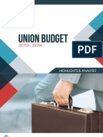 Union Budget 2013-14 - Highlights and Analysis
