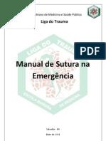 MANUAL DE SUTURAS NA EMERGÊNCIA - LIGA DO TRAUMA