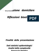 Bioetica e Ventilazione Domiciliare