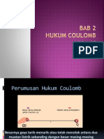 Bab 2 Hukum Coulomb