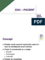 Relatia Medic - Pacient