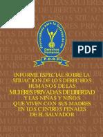 Mujeres Privadas de Libertad PDF