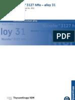 Nicrofer3127hMo e