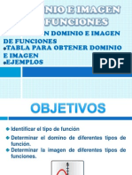 Dominio e Imagen