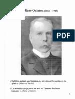 Bibliographie René Quinton