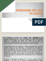 Propiedades de Los Fluidos - Punto de Fluidez y Punto de Ebullicion