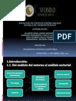 Analisis Sectorial y de Mercado- Actualizacion II