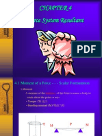 CHAP4 Force System Resultant