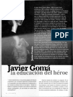 [entrevista] a Javier Gomá Lanzón - La educación del héroe