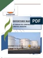 61425849 BIPUL KUMAR Inventory Managment in Iocl Barauni Refinery