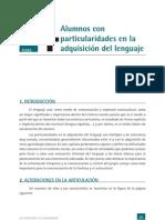 Alumnos Con Part. en La Adq. Del Lenguaje