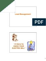 Load Management