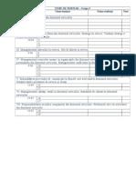Planificare Seminar Managementul Serviciilor G3