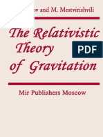 The Relativistic Theory of Gravitation